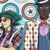 Huhuhuhu ! La fashion week avec les persos de Leaves :D  Vous pourrez retrouver ce dessin parmi les produits de BD et Paillettes à la Japan Expo 2015 !