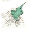 J'ai fait joujou avec le célèbre exercice de dessiner des têtes suivant des formes complètements aléatoires. :D Dans cette série, j'ai fait les formes au crayon.